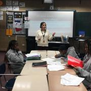 Esmeralda teaching