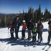 Will Lindsay skiing