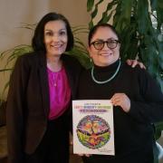 Elena Sandoval-Lucero and Johanna Maes