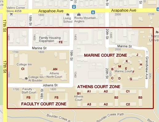 Marine Court Map