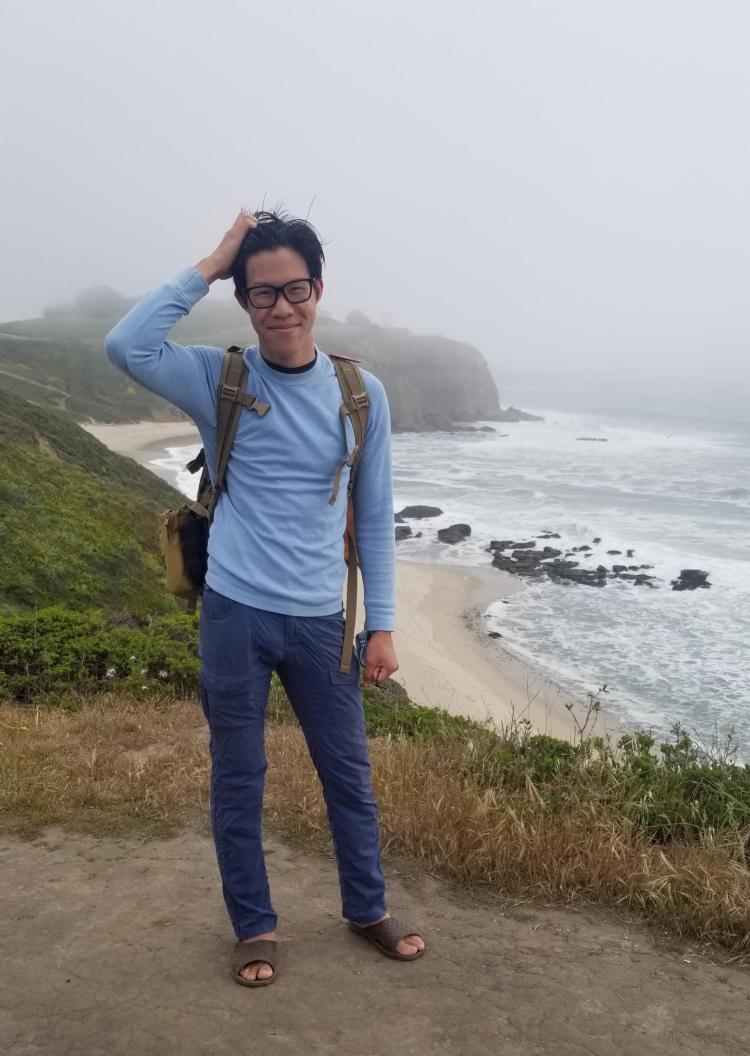 Student Anthony Nguyen