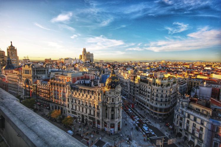 Madrid, Spain by Jorge Fernandez Salas