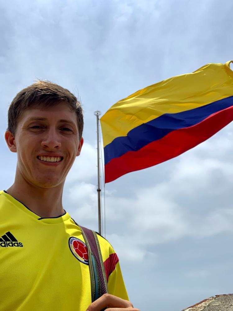 Student Cole Velasquez