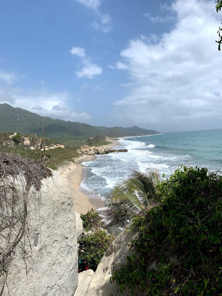 Tayrona National Park on the Caribbean Coast