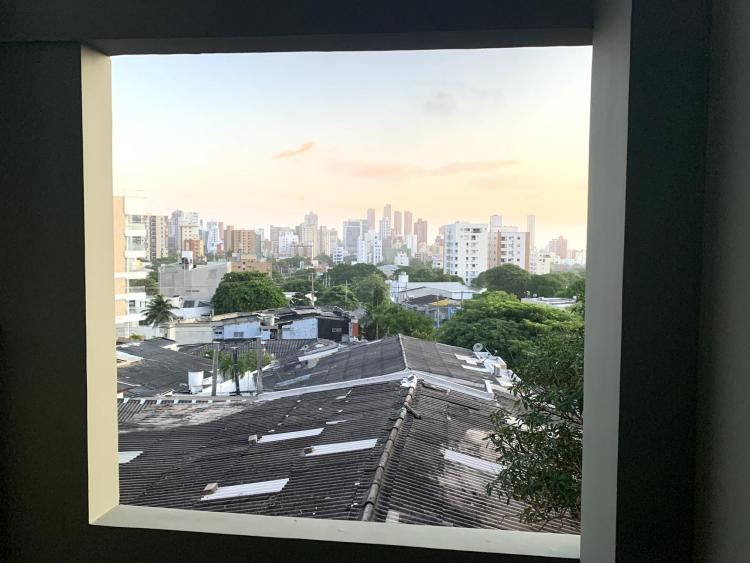 Cole Velasquez's view of Barranquilla from his homestay