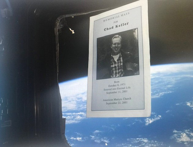 A memorial to Chad abort the International Space Station.