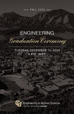 Fall 2020 Engineering & Applied Science Graduation Program