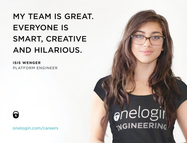 Isis Wenger ad that sparked the #ILookLikeAnEngineer campaign