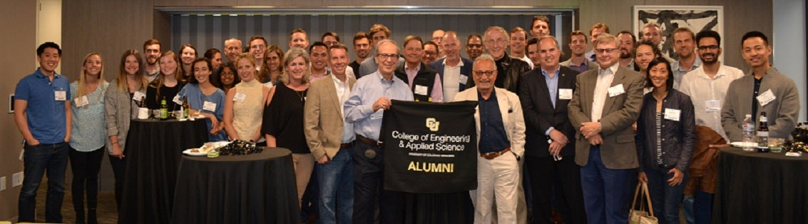 Attendees at SF Alumni Event