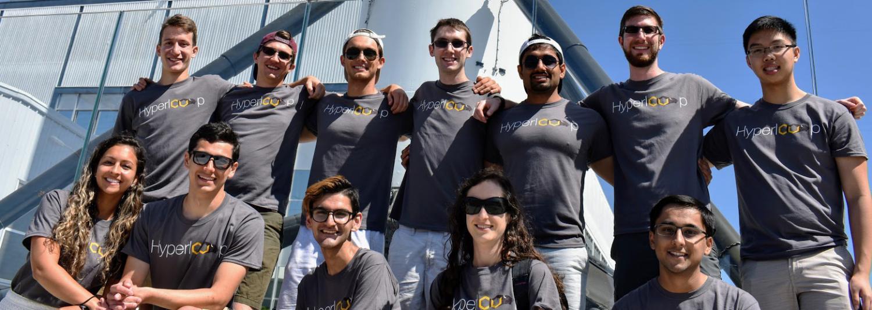 Members of team at SpaceX