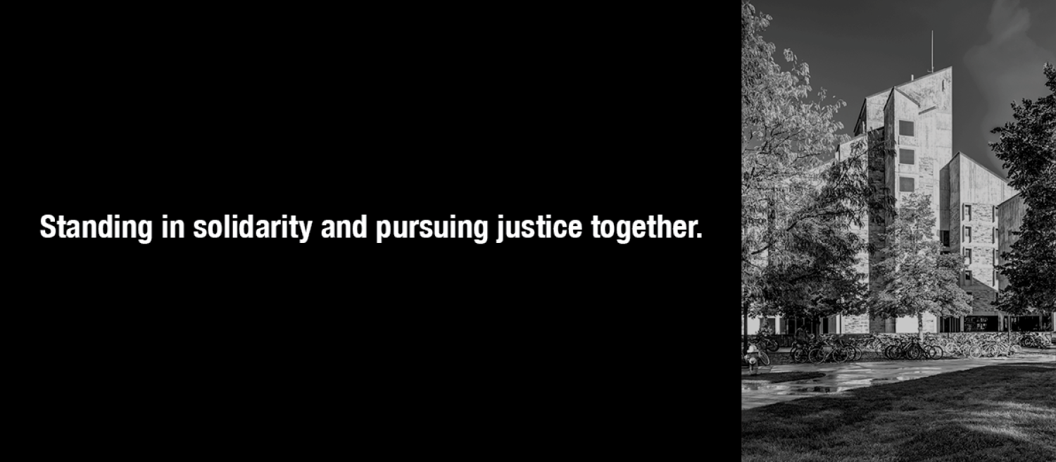 Standing in solidarity and pursuing justice together.