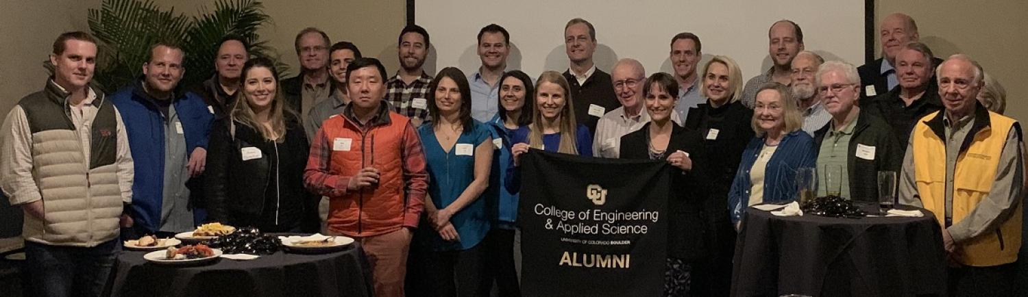 Group of Alumni Attendees at Houston Launch Event