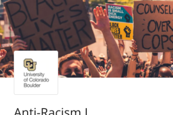 Course: Anti-Racism I: an intro to the topic of race and racism in the U.S.