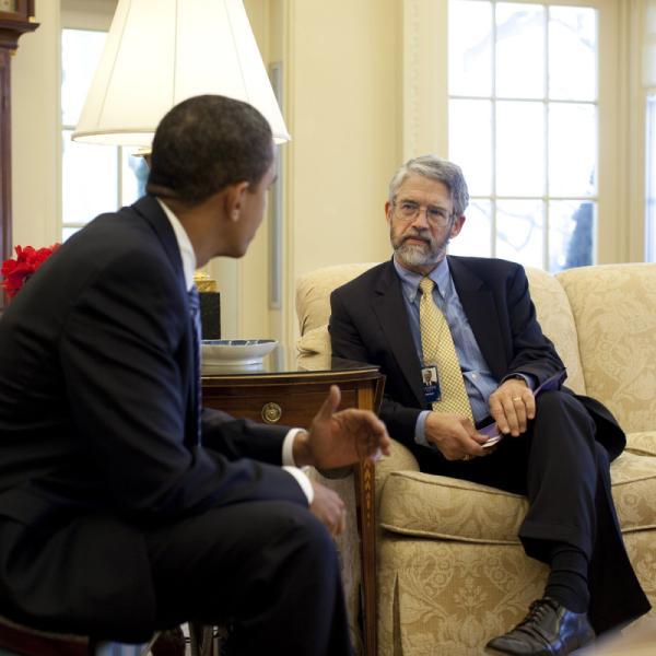 Holdren and Obama