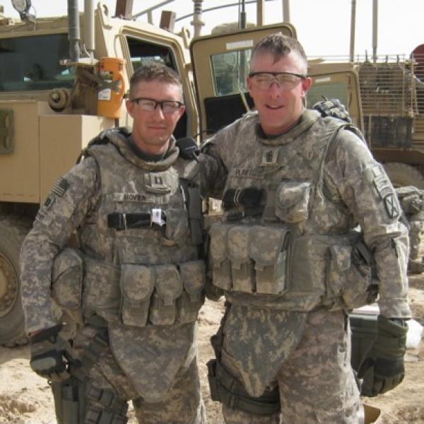 Brodie Hoyer in Iraq - 2011