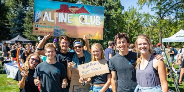 Alpine Club group photo