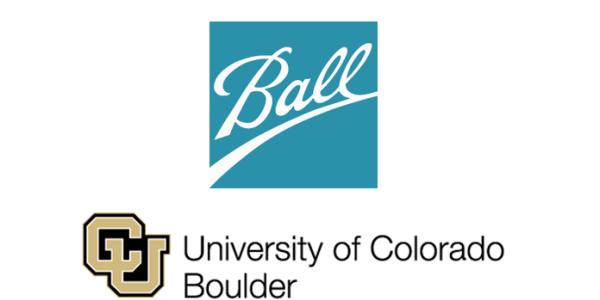 Ball and CU Boulder logos