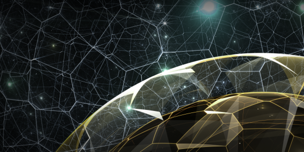 quantum network illustration