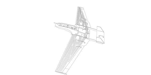 Drone Illustration Side View