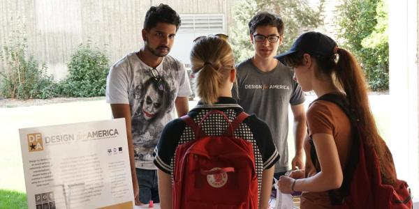Students talk about Design for America club