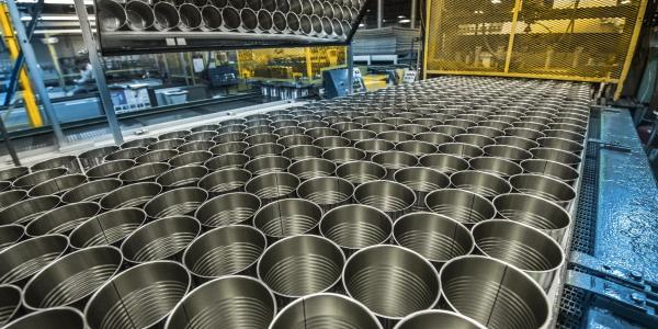 Ball food cans manufacturing line