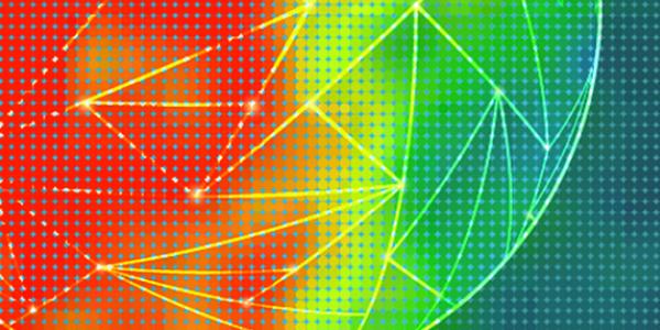 A heat map