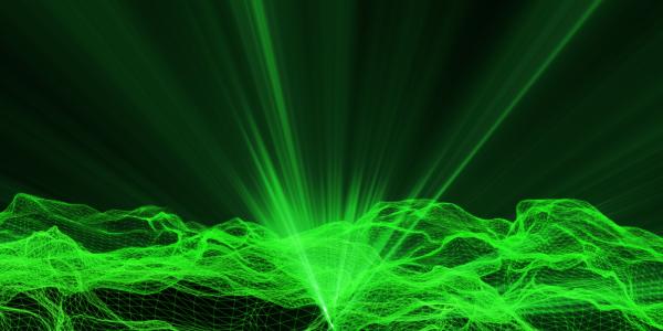 Illustration of laser imaging