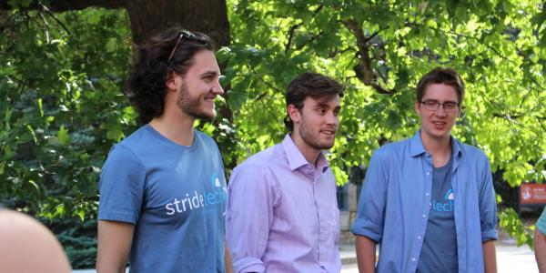 Founders of StrideTech describe their project.