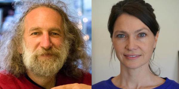 Mark Gross and Jill Dupre
