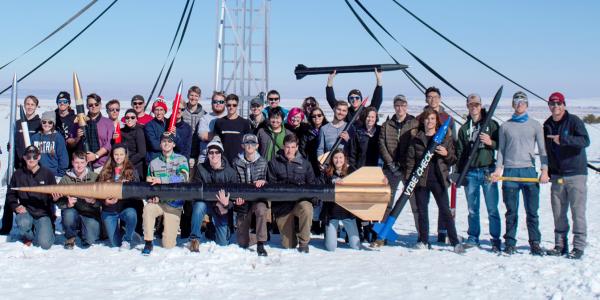 Rocket lab student group