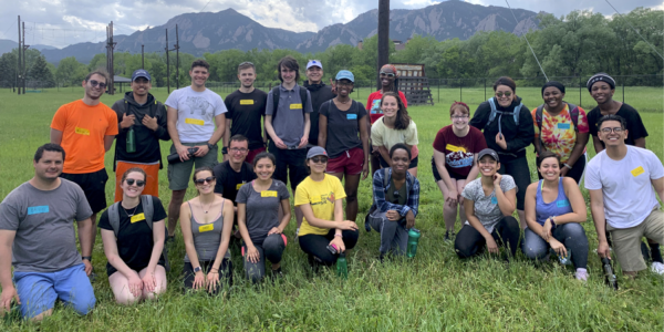 2019 SMART Program group with students from all over the world