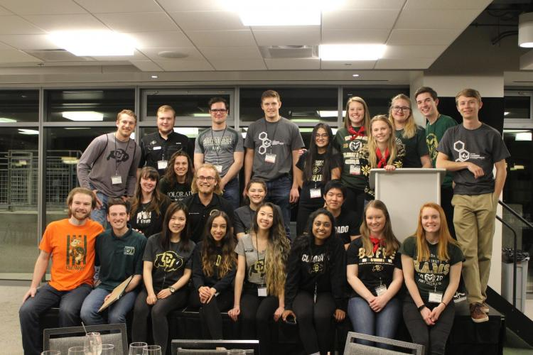 CU and CSU volunteers who organized the leadership summit.