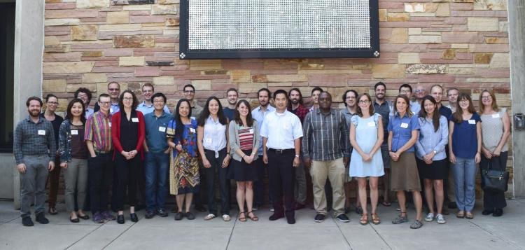 New faculty members group shot