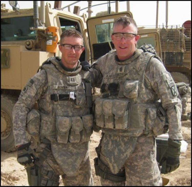 Hoyer in Iraq - 2011