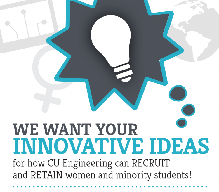 Dream big submit your ideas for increasing diversity college of graphic reading we want your innovative ideas on how cu engineering can recruit and retain altavistaventures Gallery