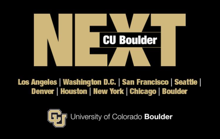 CU Boulder Next logo