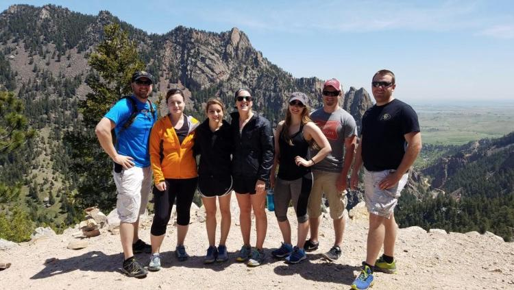CU Boulder non-traditional student organization explores colorado mountains