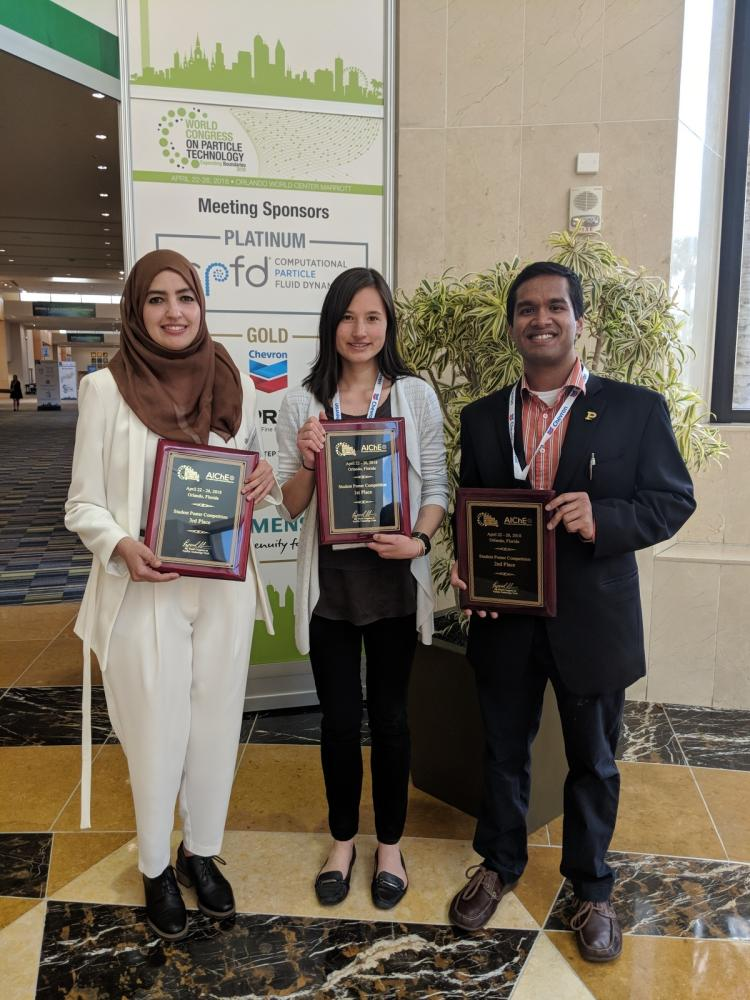 O'Toole aces chemical engineering graduate poster competition