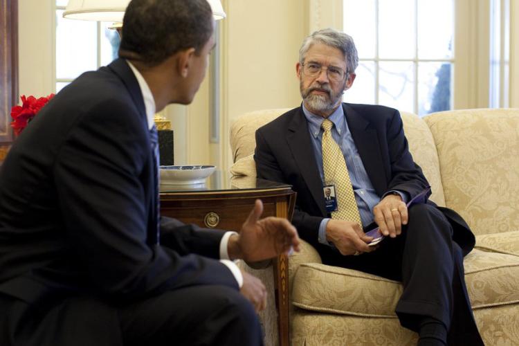 John Holdren with Obama