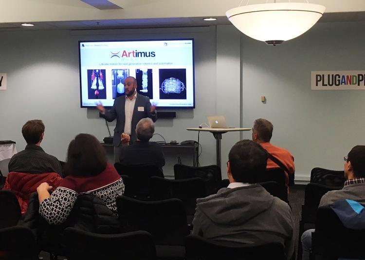 Alumni watch presentation from Tim Morrissey