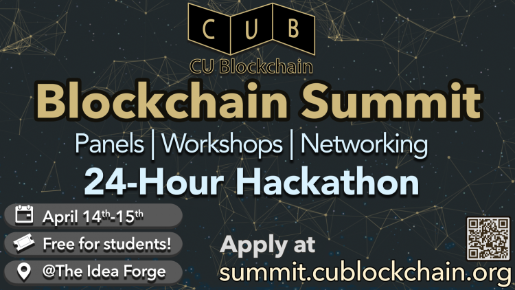 Blockchain Summit flyer