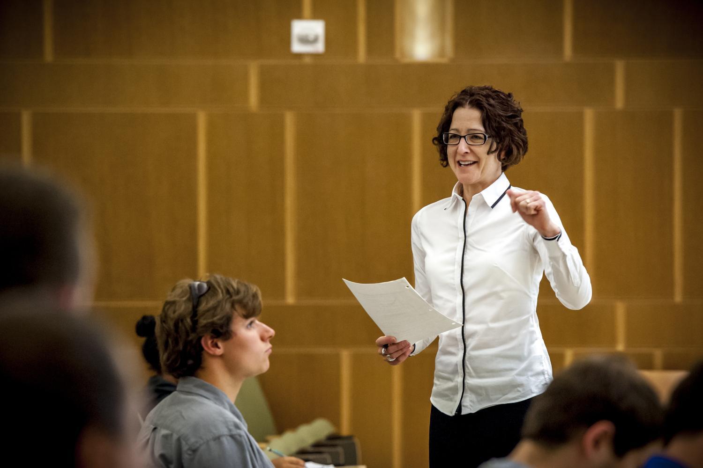 Christine Hrenya teaching