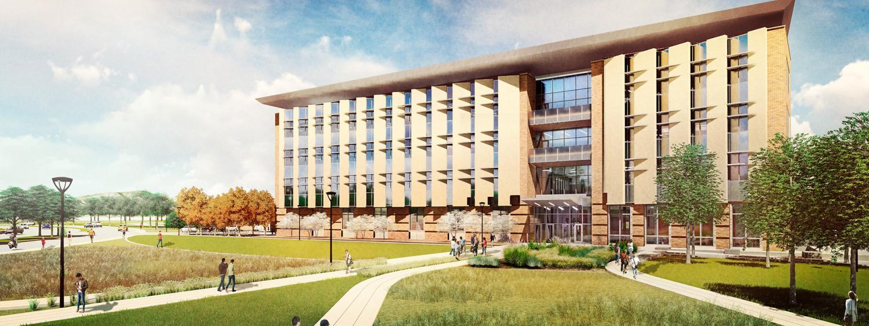 AES building exterior