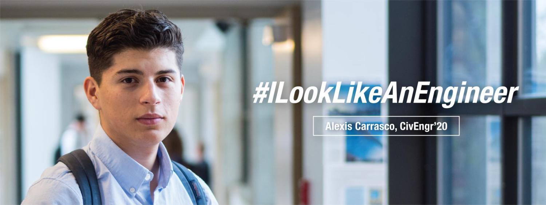 Civil Engineering Student, Alexis Carrasco