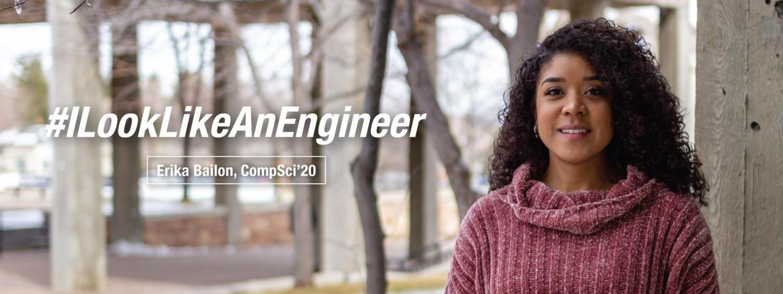 Computer Science Student, Erika Bailon
