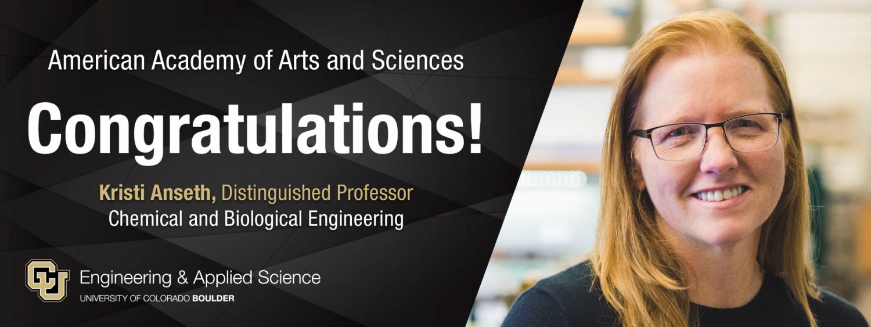 American Academy of Arts and Sciences Congratulations