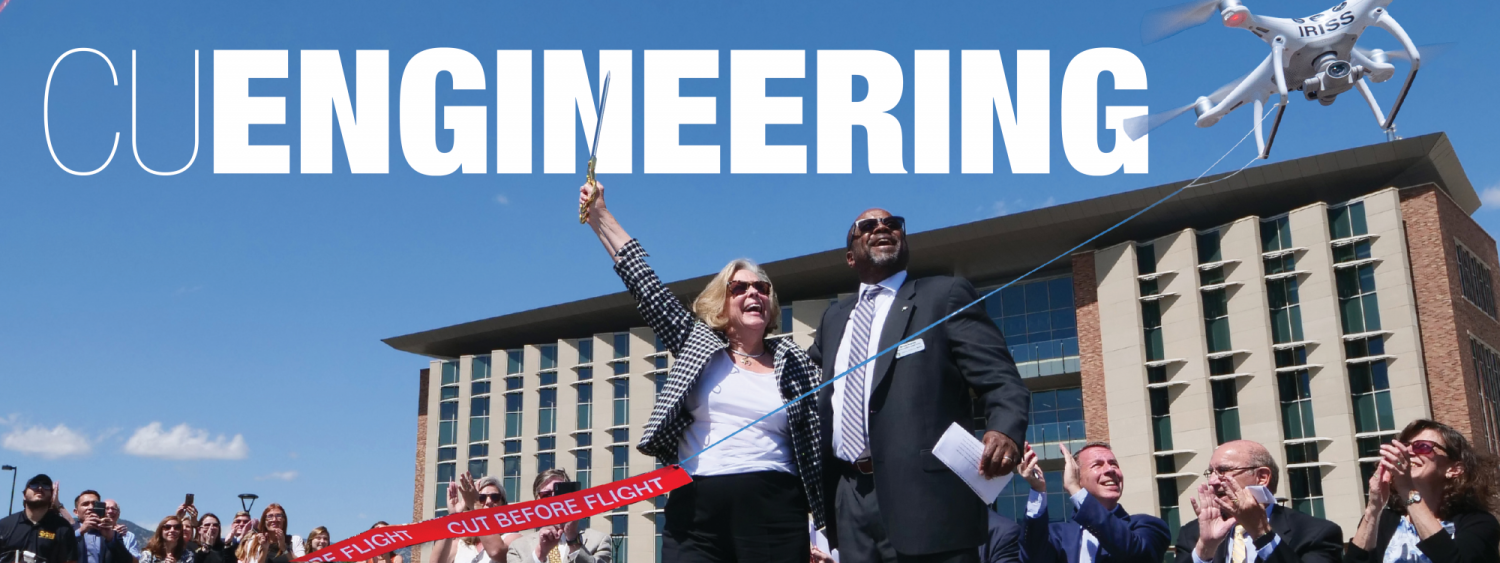Online now: CU Engineering Magazine Fall 2019 Issue