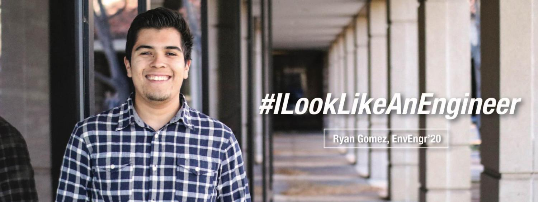 Environmental Engineering Student, Ryan Gomez