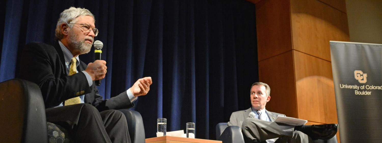 Former Obama science advisor John Holdren kicks off Dean's Speaker Series