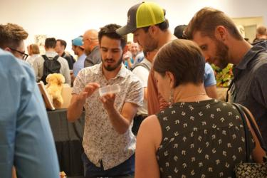 Students show off prototype at demo day
